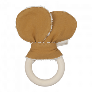 Animal Teether Bear ochre