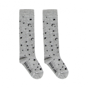 knee socks little stars