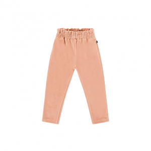 paperbag pants terra blush velvet